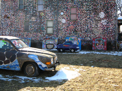 """Dotty-wotty House"" and penny car."