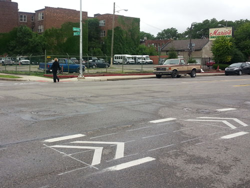 This pedestrian made it across safely, but will you?
